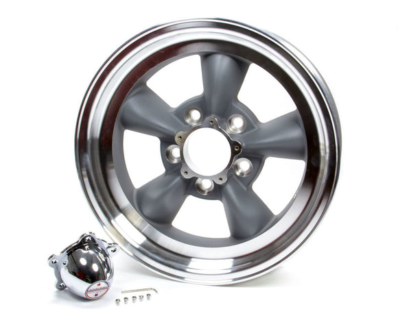 Wheel-VN105 15X8.5 5X4.7 5 GRY MA LIP