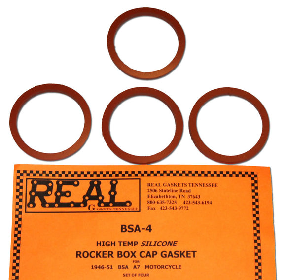 1946 to 1951 Rocker box cap gasket