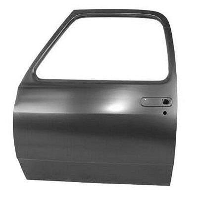 CH1300104 1985-1993 DODGE PICKUP FRONT DRIVER SIDE DOOR SHELL [WITH SPEAKER HOLE]