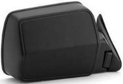 CH1321124 1984-1996 JEEP CHEROKEE_(MIDSIZE) PASSENGER SIDE MANUAL REMOTE DOOR MIRROR- BLACK- FOLD-A-WAY TYPE