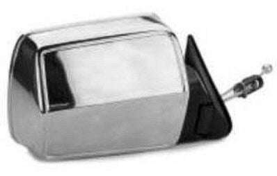 CH1321156 PASSENGER SIDE MANUAL REMOTE DOOR MIRROR- CHROME