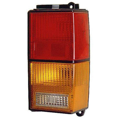 CH2801105 1984-1996 JEEP CHEROKEE_(MIDSIZE) PASSENGER SIDE TAIL LIGHT LENS- INCLUDES GASKET- WITH AMBER LENS