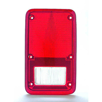 CH2808102 1978-1993 DODGE VAN DRIVER SIDE TAIL LIGHT LENS