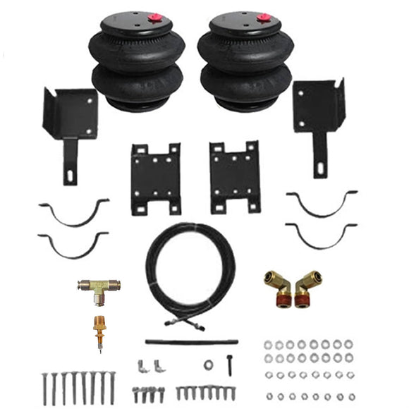 1996-2018 Chevrolet G25, G35 Van Tow Assist Helper Air Bag Kit (Manual Fill Kit Included)