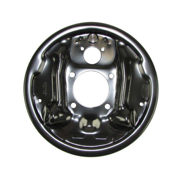 10/12 Bolt 9.5 Drum Backing Plate; Left (64-72 A-Body; 67-69 F-Body; 64-72 X-Body)