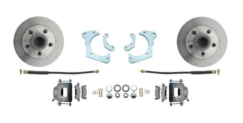 1959-1964 GM Full Size Standard Disc Brake Kit (Impala, Bel-Air)