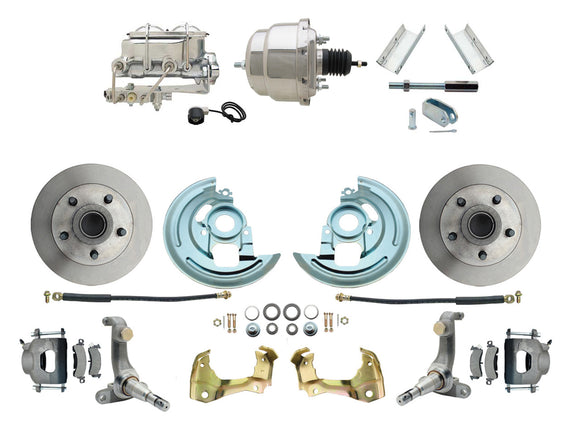 1962-1967 Nova Power Disc Brake Conversion Kit w/ 7