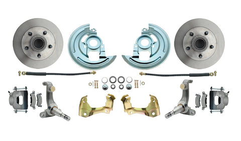 1962-1967 Chevy Nova X-Body Standard Disc Brake Kit