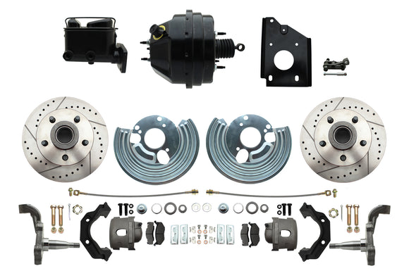 1966-1970 B Body Style Disc Brake Conversion Kit & O.E.M. Booster Conversion w/ Casting Numbers