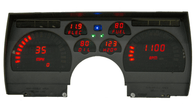 LED Digital Replacement Gauge Panel (91-92 Camaro)  Direct Replacement Gauge Cluster