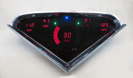 LED Digital Replacement Gauge Panel (55-59 Chevy) Direct Replacement Gauge Cluster