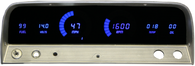 LED Digital Replacement Gauge Panel (64-66 Chevy) Direct Replacement Gauge Cluster