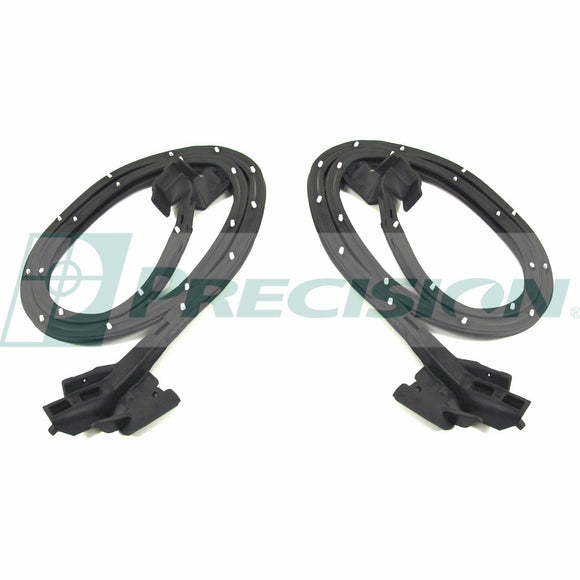 DWP 1710 68 1968 - 1969  Camaro Front Door - Seal  Pair