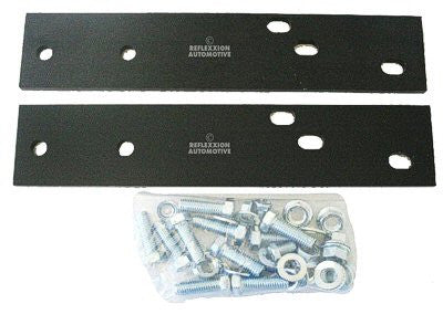 FO1165101 1972-1996 FORD PICKUP STEP BUMPER BRACKET KIT- DROP CENTER TYPE