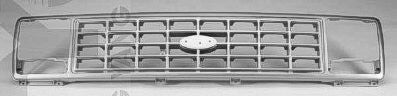 FO1200312 1979-1991 FORD VAN_FORD_ECONOLINE GRILLE- SILVER