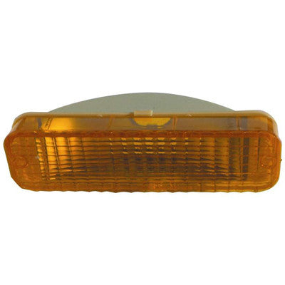 FO2520103 DRIVER SIDE FRONT PARKING/SIGNAL LIGHT LENS AND HOUSING- IN STONE DEFLECTOR