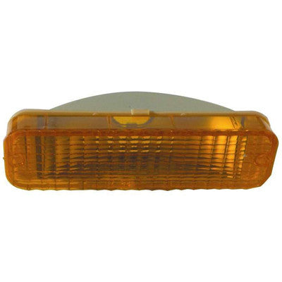 FO2521101 PASSENGER SIDE FRONT PARKING/SIGNAL LIGHT LENS AND HOUSING- IN STONE DEFLECTOR