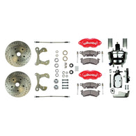Power Performance Series Replacement Kit w/ 2 Blk Wilwood Calipers Perf Rotors & more