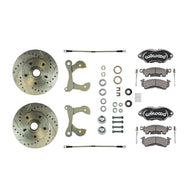 Performance Series Wilwood Wheel Kit, 2 Black Calipers, Rotors & more