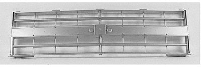 GM1200140PP GRILLE- LIGHT SILVER- WITH DUAL HEAD LIGHT- WITH MOLDING HOLES