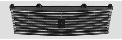 GM1200335 1985-1994 CHEV ASTRO_VAN GRILLE- BLACK- WITHOUT SPORT- CHEVY ONLY