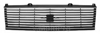 GM1200336 1985-1994 CHEV ASTRO_VAN GRILLE- BLACK- WITH SILVER- CHEVY ONLY