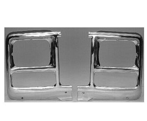 GM2512101 HEAD LIGHT BEZEL- SQUARE- DRIVER SIDE