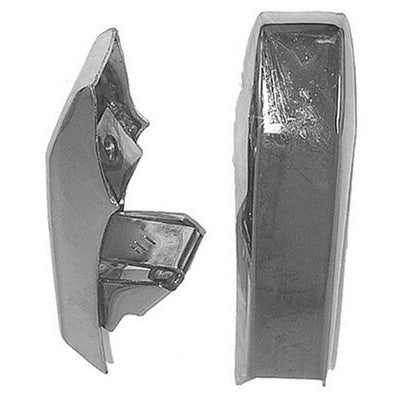 GMK212089570P 1970-1972 DODGE CHALLENGER BUMPER GUARD REAR- PAIR- WITHOUT CUSHIONS