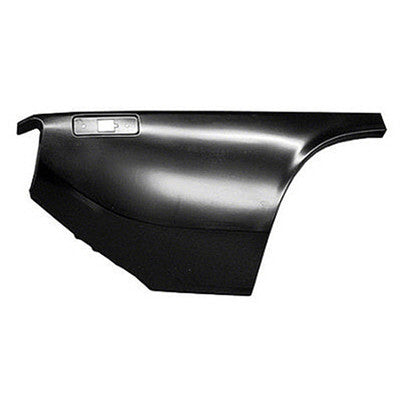 GMK242269072R 1970-1974 PLYMOUTH BARRACUDA PASSENGER SIDE LOWER QUARTER PANEL. TO USE FOR 1970-1971 MODELS THE SIDE MARKER MUST BE MODIFIED.