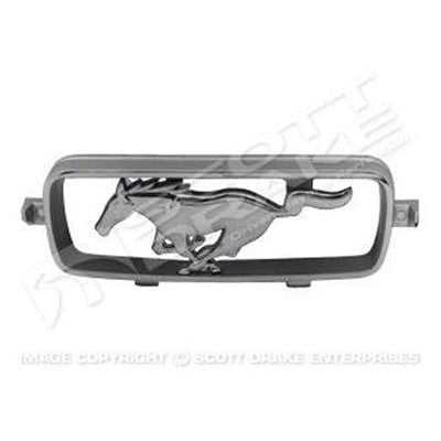 GMK3020058662S 1966-1966 FORD MUSTANG GRILLE CORRAL WITH HORSE FOR GT MODELS WITH FOG LIGHTS