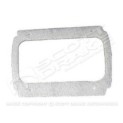 GMK302084364P 1964-1966 FORD MUSTANG DRIVER AND PASSENGER SIDE PAIR OF TAIL LIGHT BEZEL GASKETS