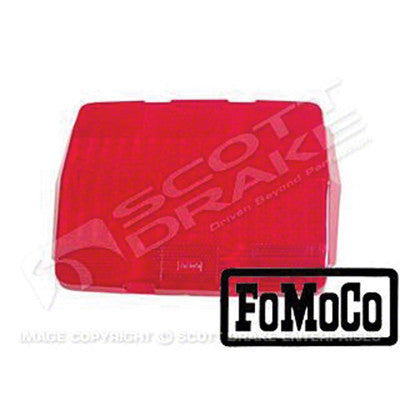 GMK3020845641 1964-1966 FORD MUSTANG DRIVER OR PASSENGER SIDE TAIL LIGHT LENS WITH LOGO- 2 REQUIRED