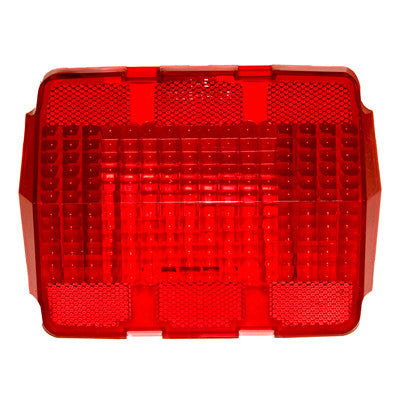 GMK302084564 1964-1966 FORD MUSTANG DRIVER OR PASSENGER SIDE TAIL LIGHT LENS WITHOUT LOGO- 2 REQUIRED