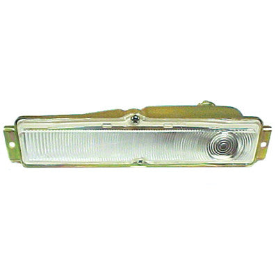 GMK401007162R 1962-1962 CHEV NOVA PASSENGER SIDE CLEAR PARK LIGHT ASSEMBLY