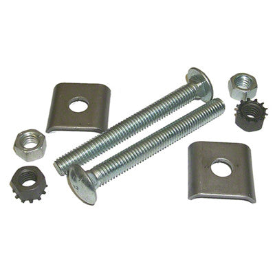 GMK4010749621S 1962-1966 CHEV NOVA 8-PIECE FUEL TANK STRAP HARDWARE KIT- CONSISTS OF BOLTS- NUTS- AND SPACERS