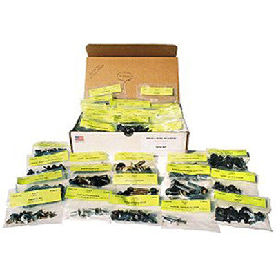GMK401095864S 1964-1964 CHEV CHEVY_II and 1964-1964 CHEV NOVA HARDWARE BODY SET- 376-PIECES