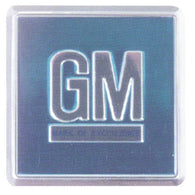 GMK4011453671 AQUA GM DOOR JAMB DECAL FOR ALL 1967 GM CARS- 2 REQUIRED