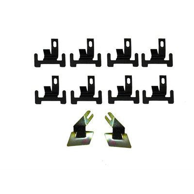 GMK4020525674K 10-PIECE WINDSHIELD LOWER MOULDING CLIP SET FOR CAMARO/FIREBIRD HARDTOP MODELS- AND ALL NOVA