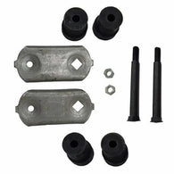 GMK402099867K LEAF SPRING SHACKLE KIT- STEEL AND RUBBER COMPONENTS
