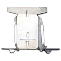 GMK4030721641 TRUNK LATCH STRIKER MOUNT FOR ALL MODELS EXCEPT WAGON.  WELDS TO REAR BODY PANEL
