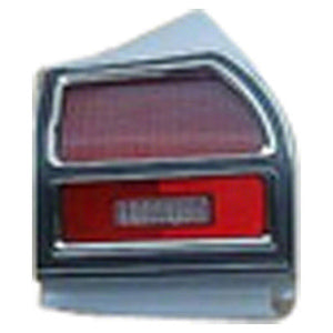 GMK403284269R 1969-1969 CHEV CHEVELLE PASSENGER SIDE TAIL LIGHT ASSEMBLY FOR ALL EXCEPT WAGON MODELS- INCLUDES BEZEL- LENS- AND HOUSING