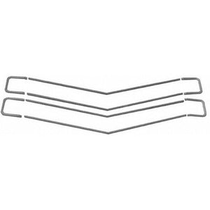 GMK4033055701S GRILLE MOLDING SET- 8 PIECES- FOR SS MODELS