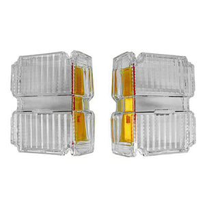 GMK403307071P PARK LIGHT LENS LH/RH PAIR EXCEPT WAGON/EL CAMINO