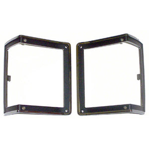 GMK403307672P DRIVER AND PASSENGER SIDE PAIR OF PARK LIGHT BEZELS FOR ALL MODELS EXCEPT WAGON