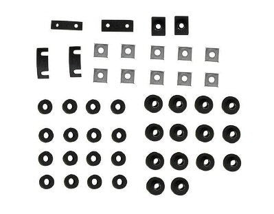 GMK4040990551 1955-1957 CHEV 210 and 1955-1957 CHEV BELAIR RUBBER BODY MOUNT SET FOR HARDTOP MODELS