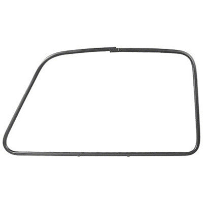 GMK4140405471R 1947-1955 CHEV GMC PICKUP C/K AND SUBURBAN PAINTED PASSENGER SIDE OUTSIDE DOOR GLASS MOULDING