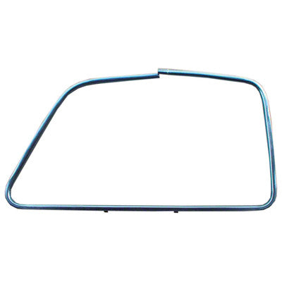 GMK4140405472L 1947-1955 CHEV GMC PICKUP C/K AND SUBURBAN CHROME AND STAINLESS STEEL DRIVER SIDE OUTSIDE DOOR GLASS MOULDING