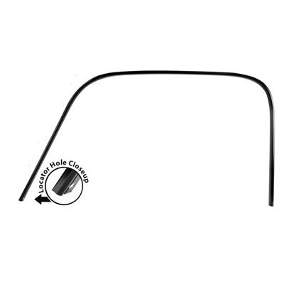 GMK4140405473L 1947-1950 CHEV GMC PICKUP C/K AND SUBURBAN DRIVER SIDE DRIP RAIL- STEEL CONSTRUCTION- WELD ON