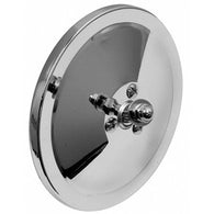 GMK4140410472 1947-1966 CHEV GMC PICKUP C/K BLAZER AND SUBURBAN DRIVER OR PASSENGER SIDE 5-INCH CHROME ROUND SMOOTH MIRROR HEAD