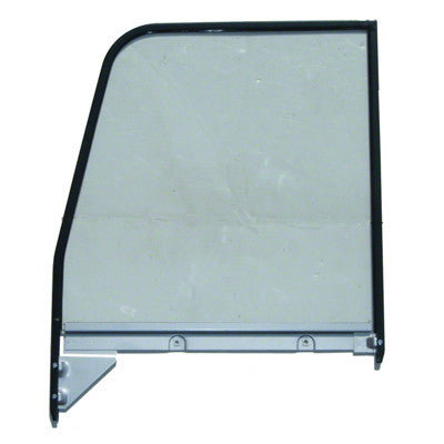 GMK4141405553L 1955-1959 CHEV GMC PICKUP C/K AND SUBURBAN DRIVER SIDE CLEAR DOOR GLASS ASSEMBLY WITH PAINTED FRAME